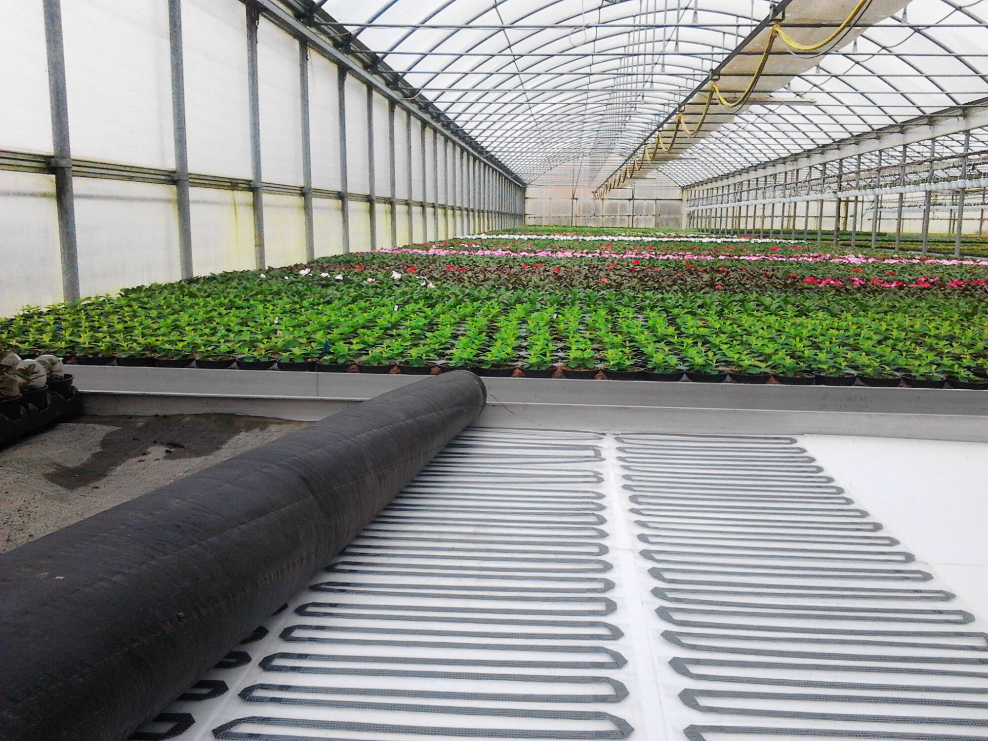 Greenhouse Floor Mats and Heating Systems