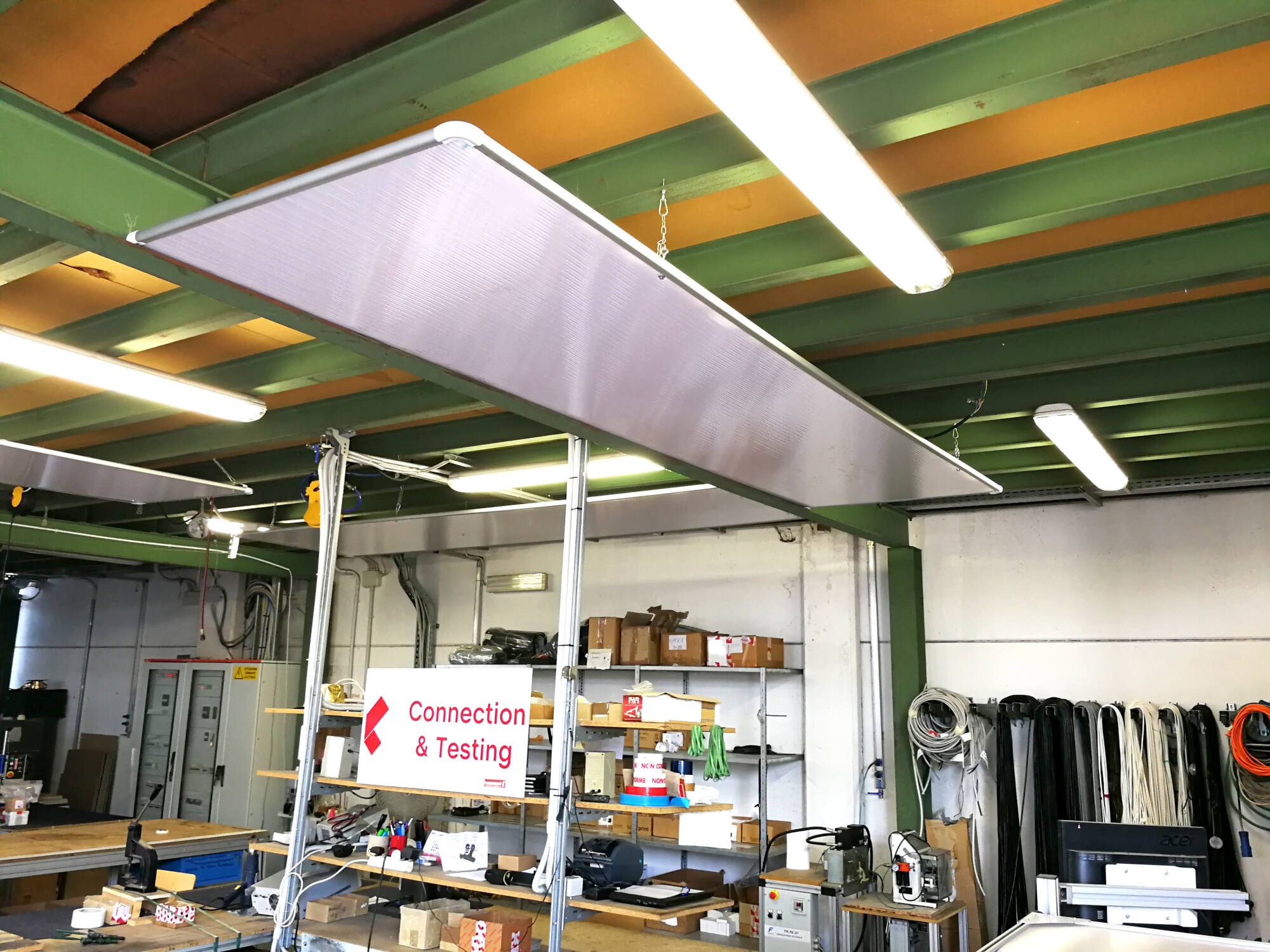Industrial Infrared Heating Panels   W-Radiant